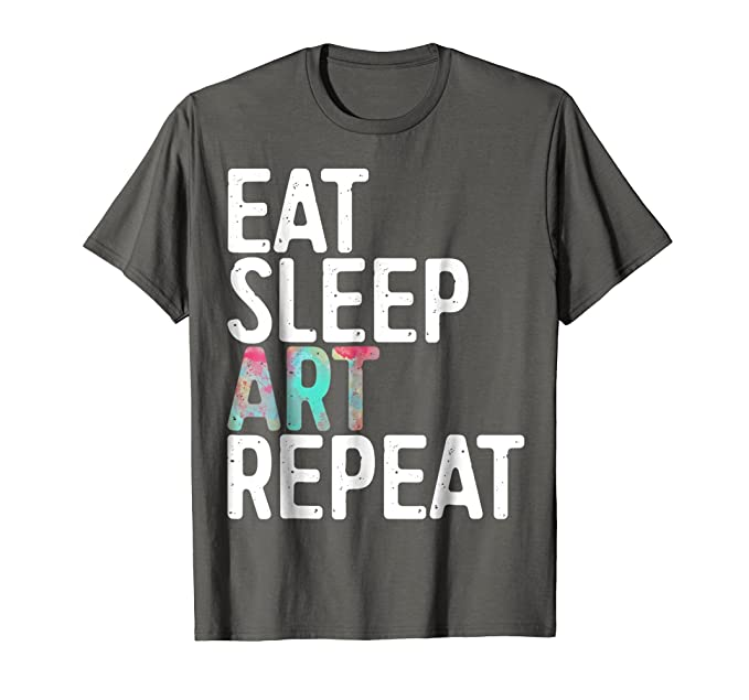 Image result for at Sleep Art Repeat T-Shirt Funny Artist Creative Gift