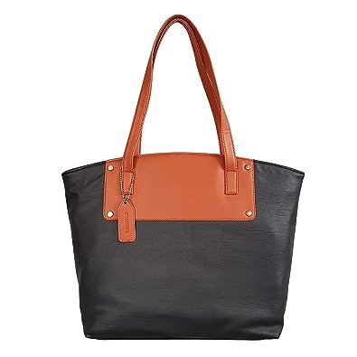 9c7bb25923d0 Toteteca Bag Works Toteteca Colorblock Shoulder Bag Women s (Black)   Amazon.in  Shoes   Handbags
