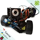 Freenove Three-wheeled Smart Car Kit for Raspberry Pi | Model 3B, 2B, B+ | Detailed Tutorial | Android APP | Robot Camera Video WiFi Wireless Servo Ultrasonic