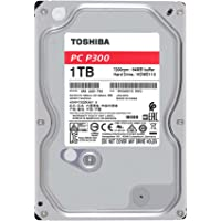 """TOSHIBA P300 disque dur interne 1 To – 3,5"""" (pouces) – disque dur SATA (HDD) – 7200 tours par minute (tpm) – 6 Go/s – pour ordinateurs de jeu, PCs de bureau, stations de travail, etc."""