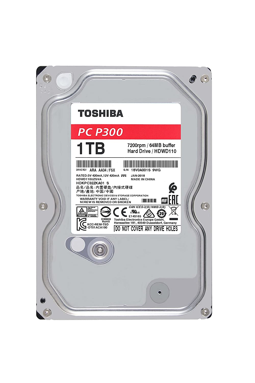 Amazon.com: Toshiba 1TB Desktop 7200rpm Internal Hard Drive
