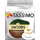 Tassimo Jacobs 经典卡布奇诺咖啡胶囊 5包装 (5 x 8杯)