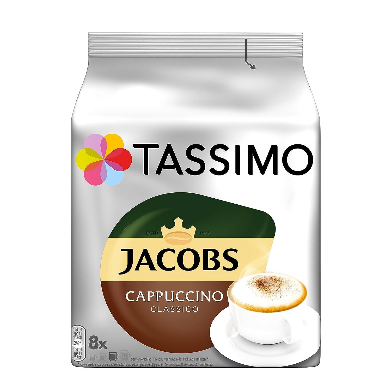Bosch 8 Tassimo Jacobs Cappuccino Classico T-Disk: Amazon.es ...