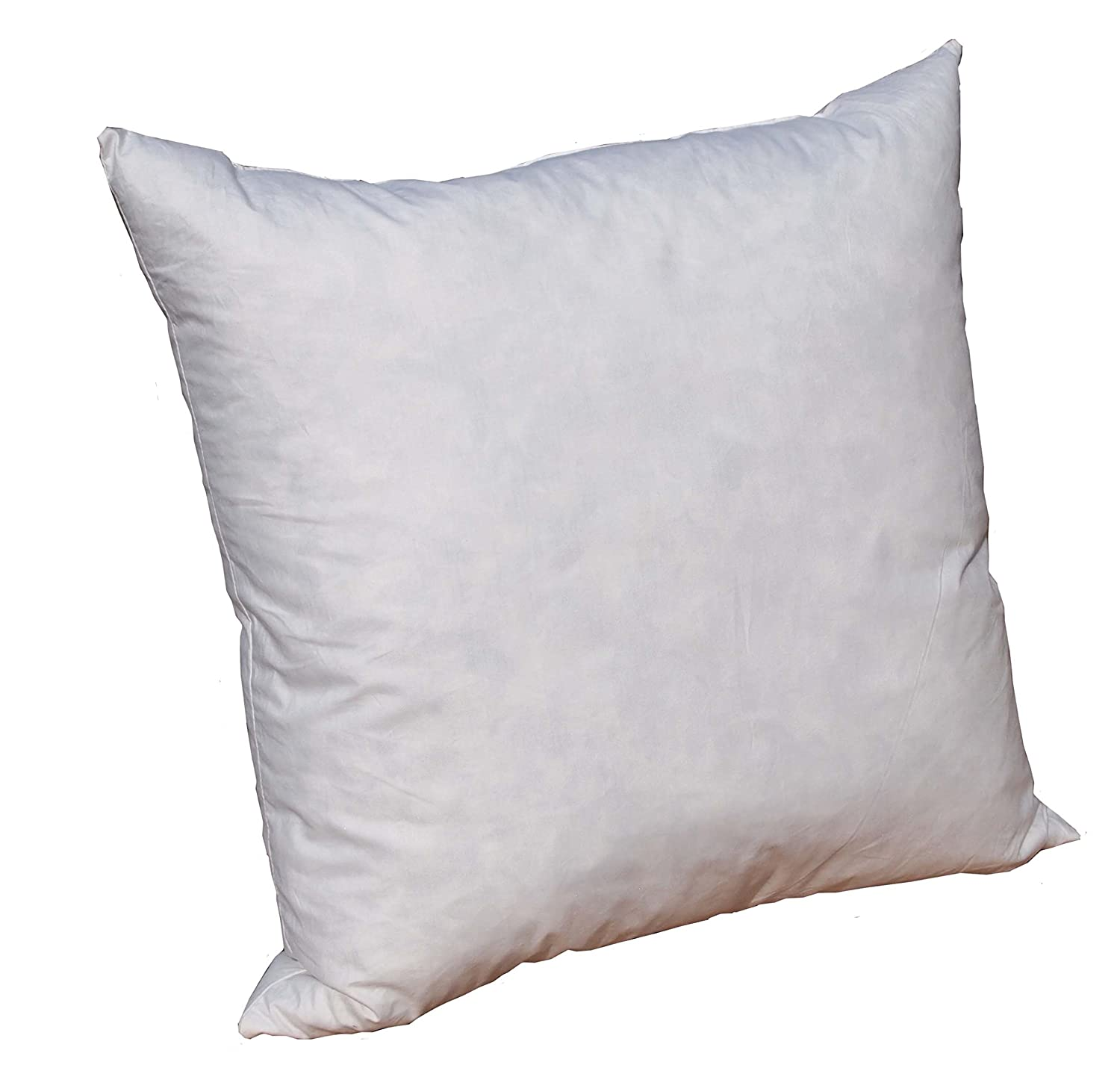 Amazon.com: Pillowflex 18% Feather by 18% Down Pillow Form Insert ...