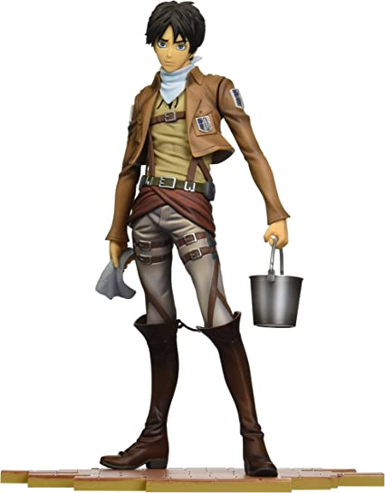 """NEW SENTINEL BRAVE-ACT 1//8 ATTACK ON TITAN /""""EREN JAEGER/"""" CLEANING VERSION USA"""