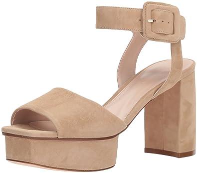 9e11306c16d Stuart Weitzman Women s NEWDEAL Heeled Sandal Mojave Suede 6.5 Medium US