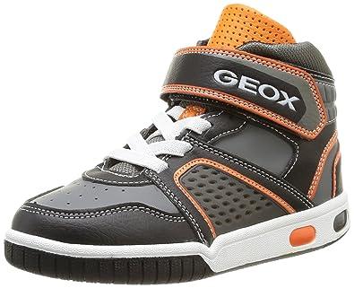 Geox Jr Gregg, Baskets mode garçon