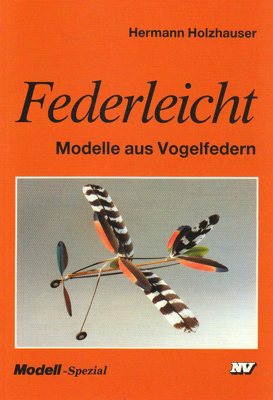 Federleicht  Modell Aus Vogelfedern