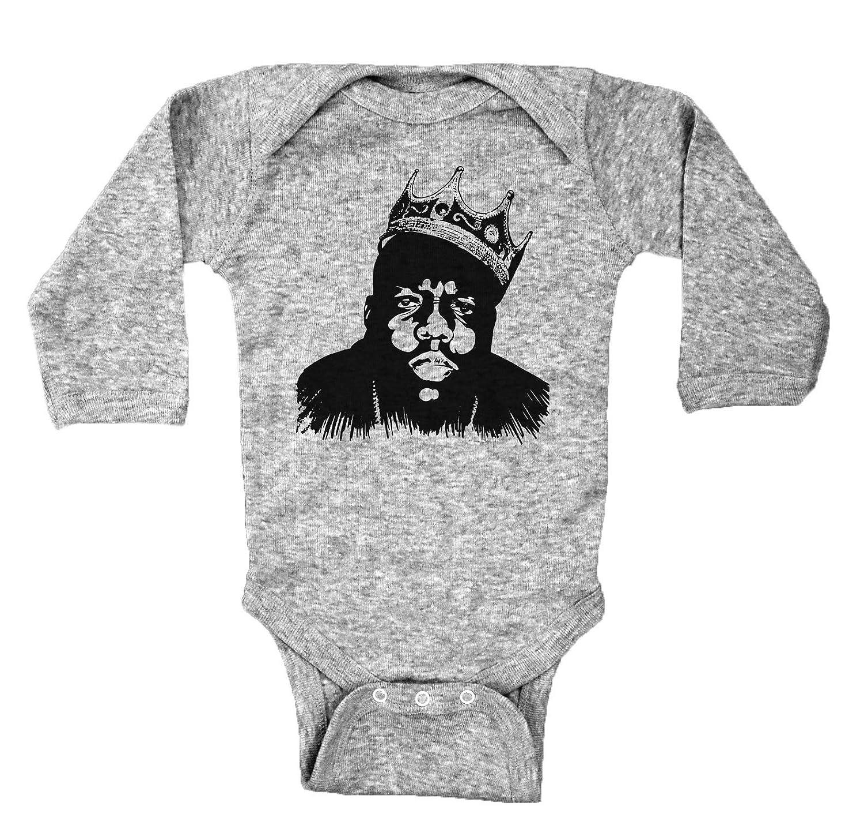 fa821b673 Amazon.com: Biggie Smalls Inspired Baby Onesie/Biggie/Notorious Big Infant  Bodysuit: Clothing