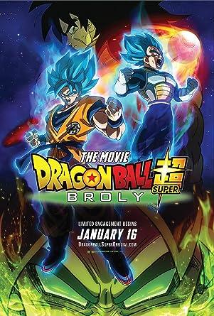 Amazon Com Dragon Ball Super Broly The Movie Blu Ray Sean
