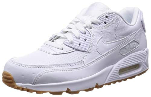 Nike Air MAX 90 Leather Pa, Zapatillas para Hombre, Blanco (White 111White 111), 45.5 EU: Amazon.es: Zapatos y complementos