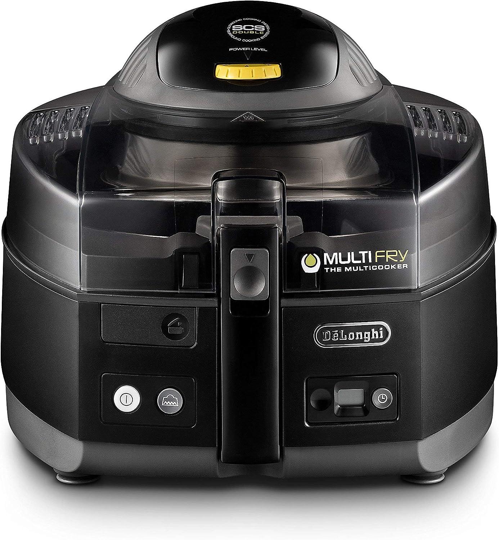 De'Longhi FH1163 MultiFry, air fryer and Multi Cooker, Black (Renewed)