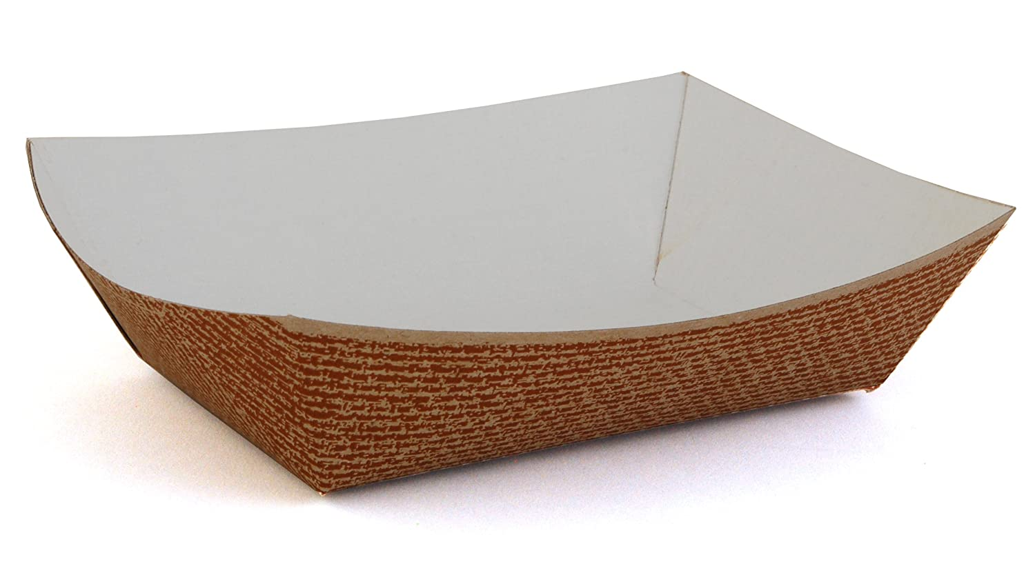 Southern Champion Tray 0564 #200 Hearthstone Clay Coated Paperboard Food Tray / Boat / Bowl, 2 lb. Capacity (Case of 1000)