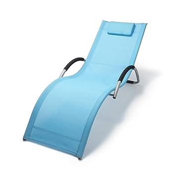 ampel 24 chaise longue bahamas pour sauna piscine meuble de jardin rsistante en - Chaises Longues Jardin