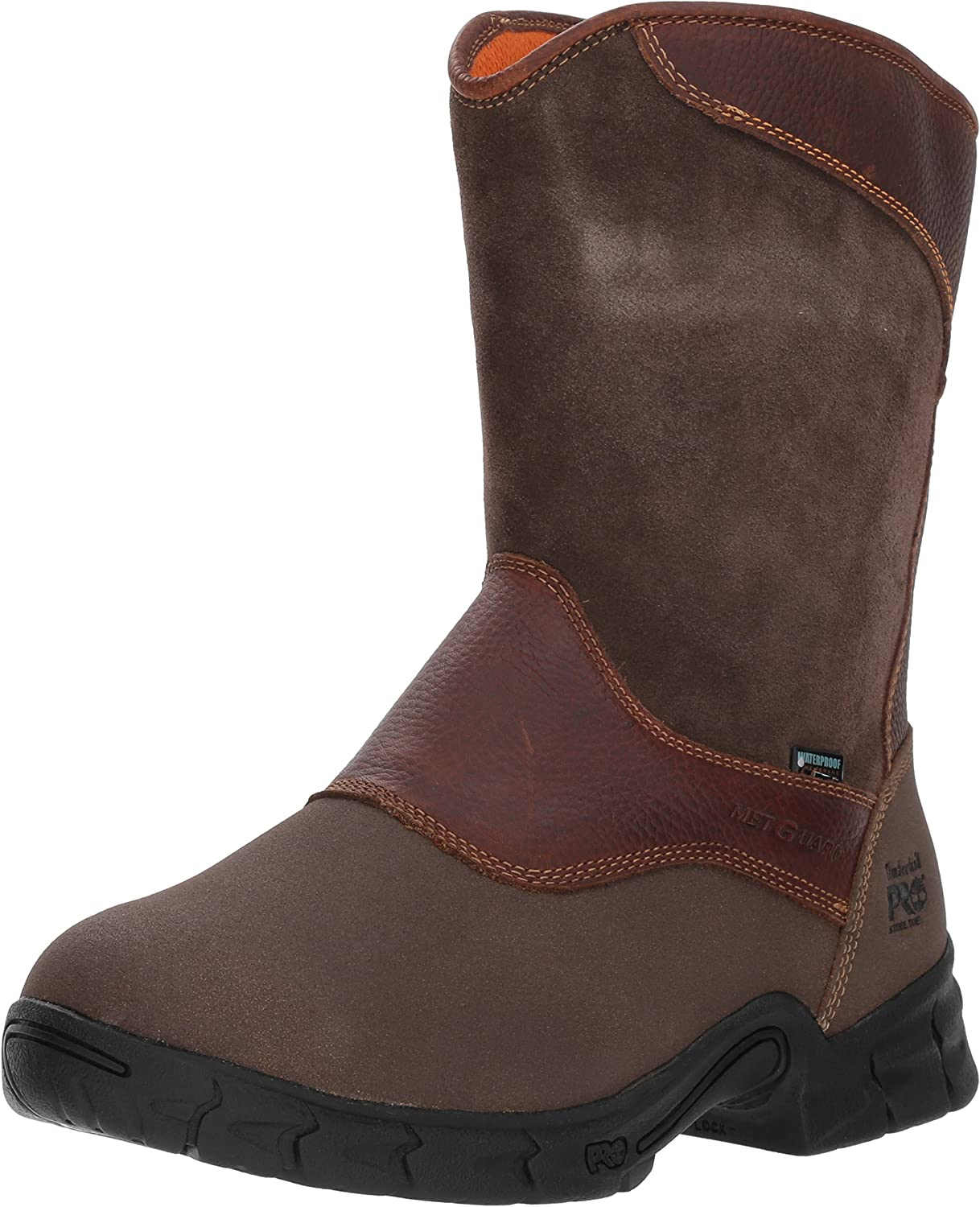 Timberland PRO Men's Excave Met Wellington Work Boot,Brown Tumbled,13 W US