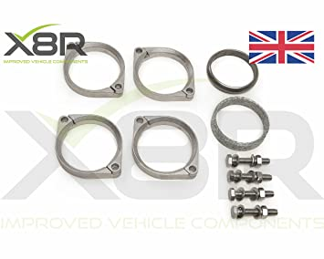 Replacement Exhaust Flange Brackets Repair Fix Kit For M Performance M3 E46