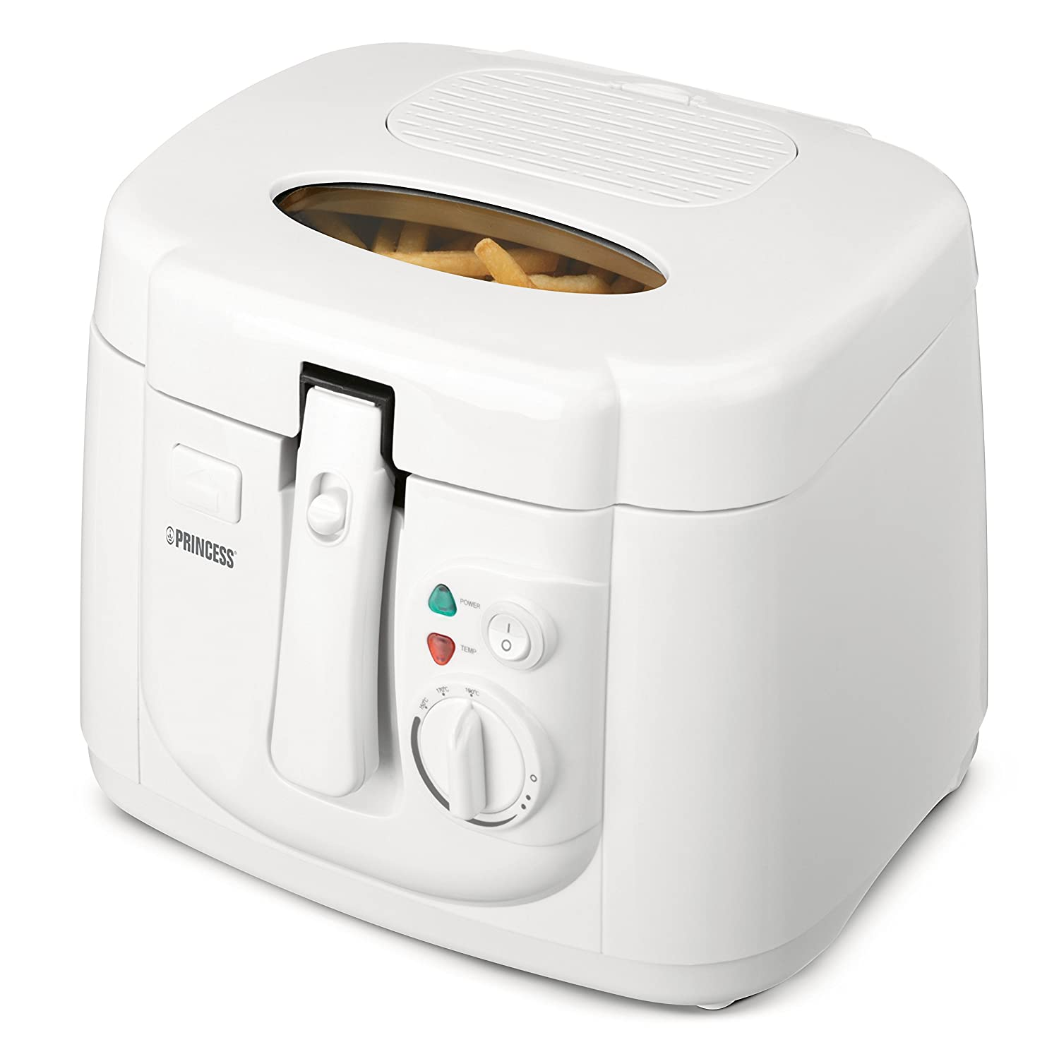 Princess Royal Deep - Freidora, capacidad de 2.5 l, color blanco: Amazon.es: Hogar