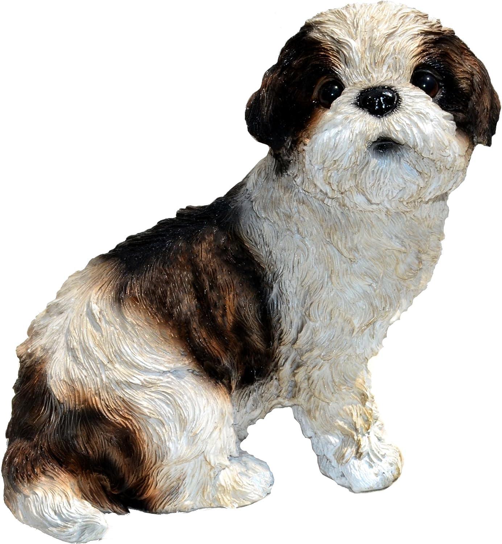 Michael Carr Designs 80093 Sue-Shih Tzu Puppy Statue, Small