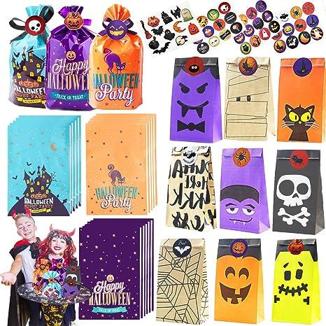 Amazon.com: 168 bolsas de regalo de papel con 12 estilos ...