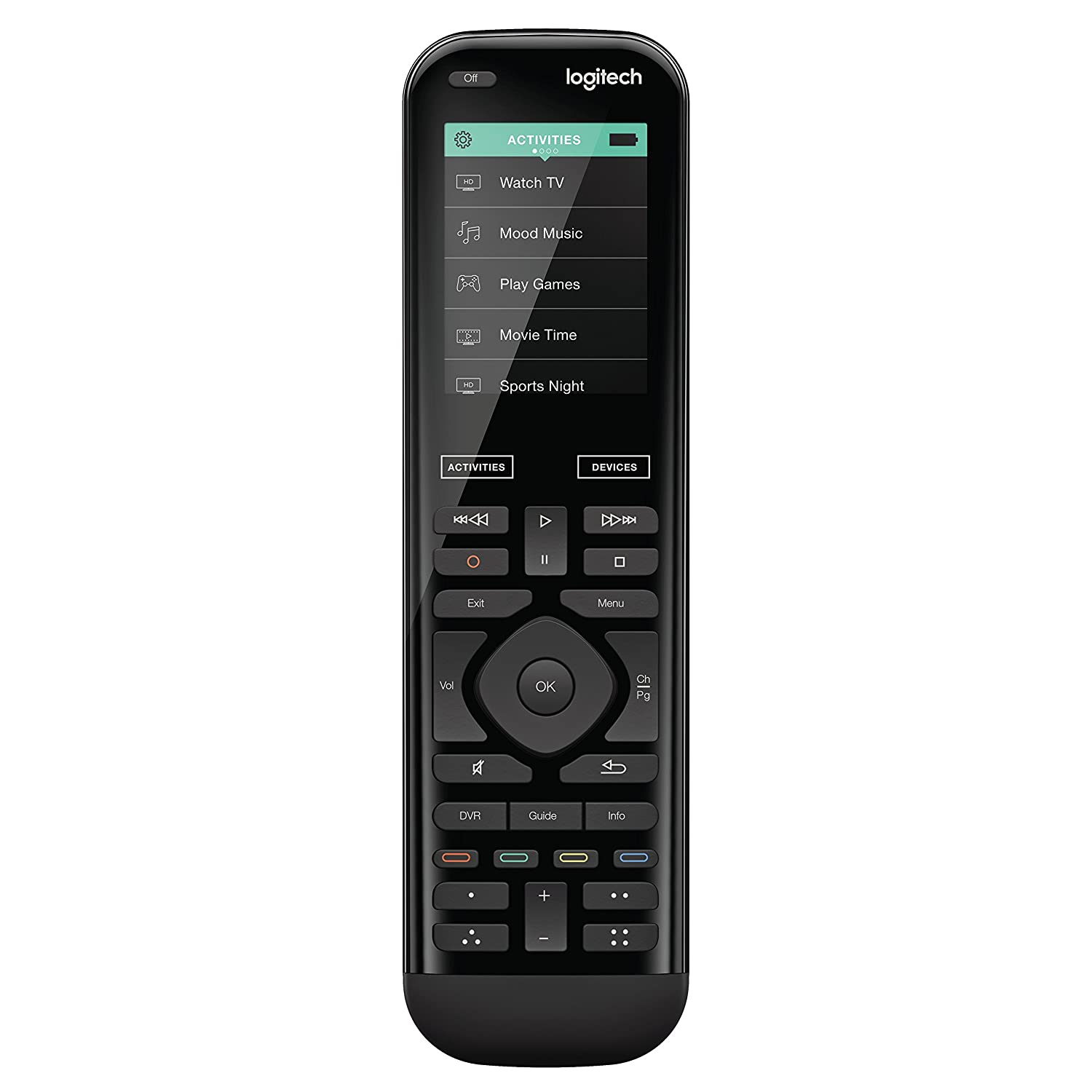 Amazon.com: Logitech Harmony 950 Touch IR Remote Control for up to 15  Entertainment Devices: Electronics