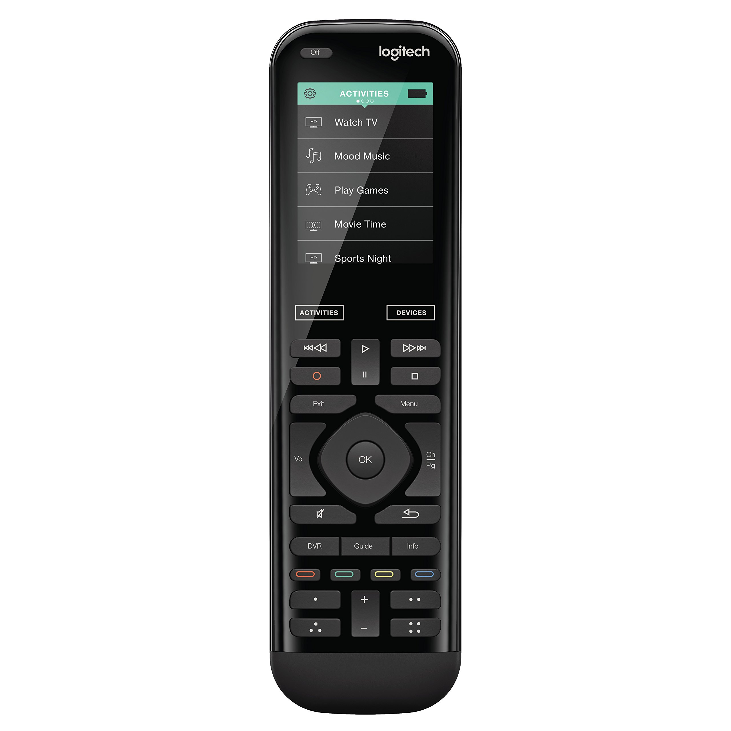 Logitech Harmony 950 Touch IR Remote Control for up to 15 Entertainment Devices by Logitech
