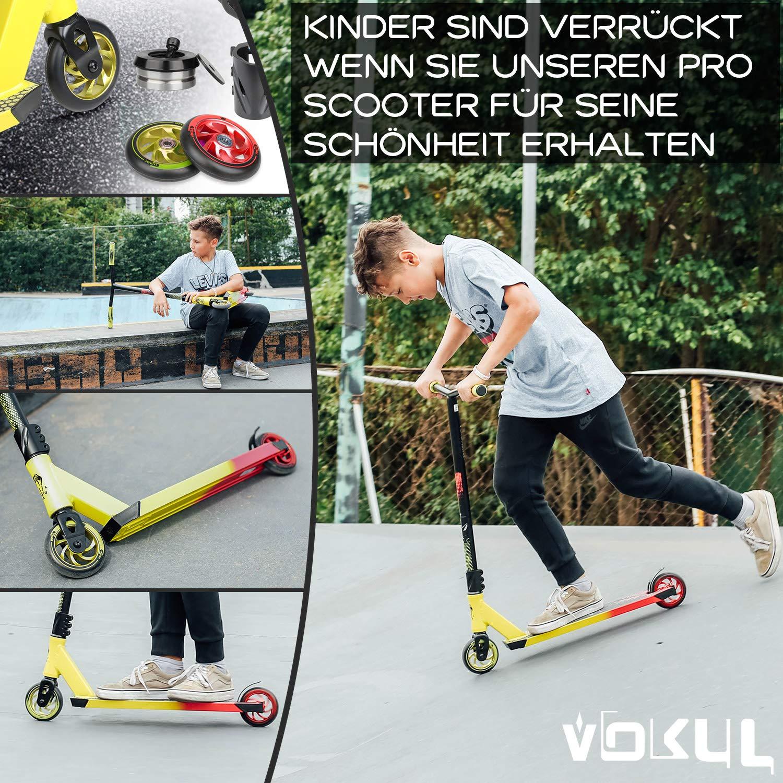 VOKUL BZIT K1 Pro Stunt Scooter - Patinete con Ruedas de ...