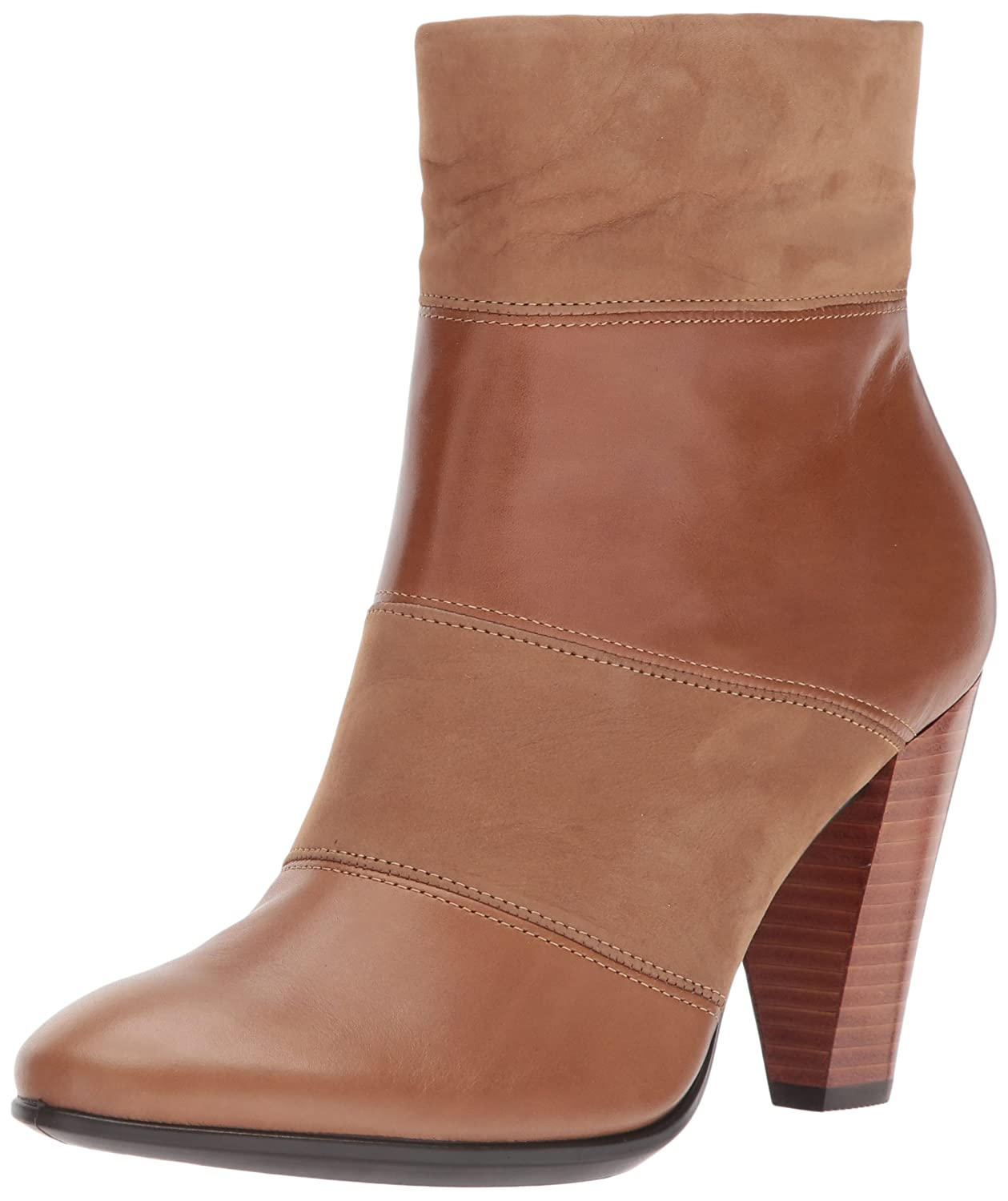 ECCO Women's Women's Shape 75 Modern Ankle Bootie B01MSB0IIM 40 EU / 9-9.5 US|Camel/Camel