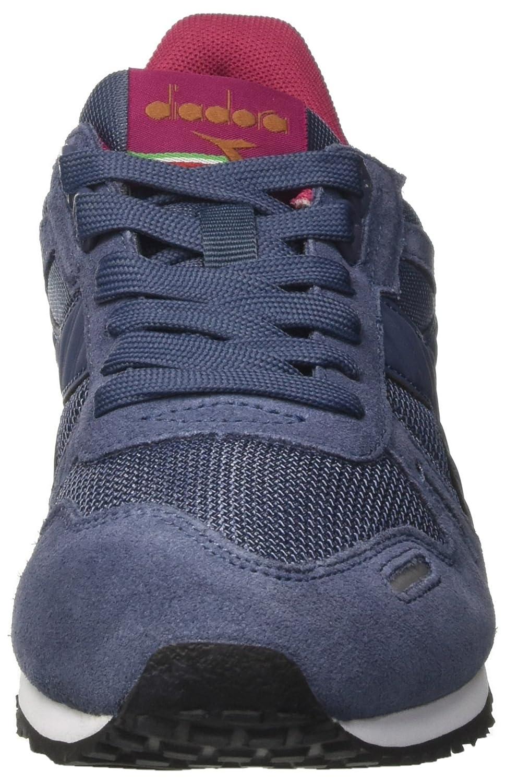 Diadora Titan Ii W, Damen Sneakers, Blau (Vintage Indigo), 38 EU