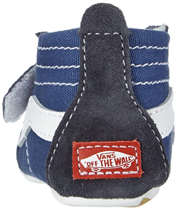 ad60133ac4 Vans Baby Boys  Sk8-Hi Crib (Infant) - Navy - 4  Amazon.ca  Shoes   Handbags