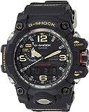 Casio G-Shock GWG-1000-1A GWG-1000-1ADR Mudmaster Triple Sensor Solar Wave Ceptor Men's Watch (Black)