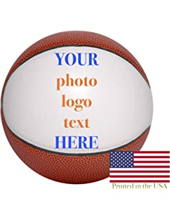 3cd6f6c1e Custom Personalized Basketball - 9 Inch Mid Size Basketball - Ships in 3  Business Days