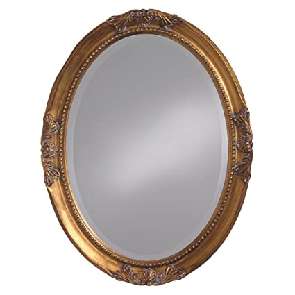 Perfect Amazon.com: Howard Elliott 4014 Queen Ann Mirror, Oval, Antique  TY06