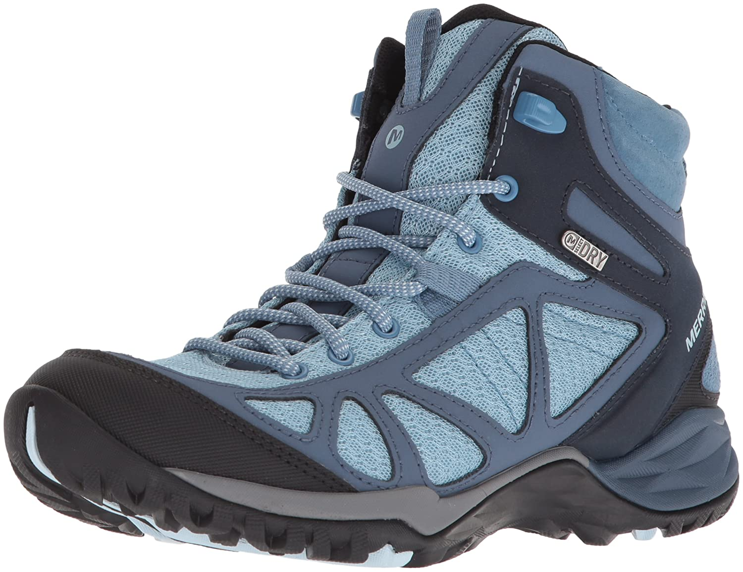 Merrell Women's Siren Sport Q2 Mid Waterproof Hiking Boot B0725R6LR4 5.5 B(M) US|Blue