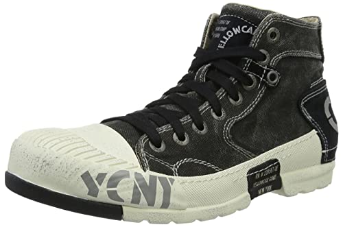 Mud M, Mens Low-Top Sneakers Yellow Cab