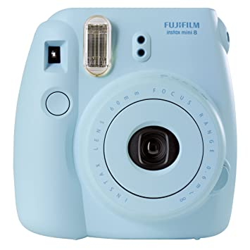 Amazon.com: Fujifilm INSTAX Mini 8 Instant Camera (Blue ...