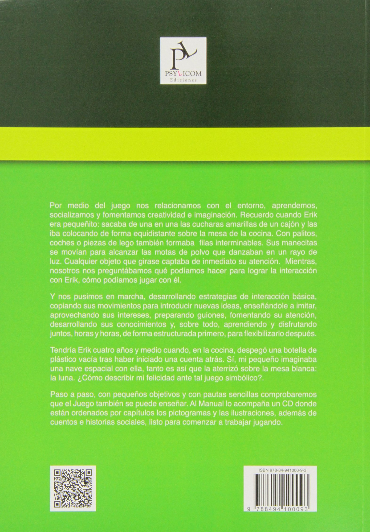 Manual Del Juego Para El Niño Con Autismo.: Maite Navarro, Fátima Collado Anabel Cornago: 9788494100093: Amazon.com: Books