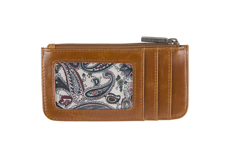Shiraleah Harper Card Case Saddle