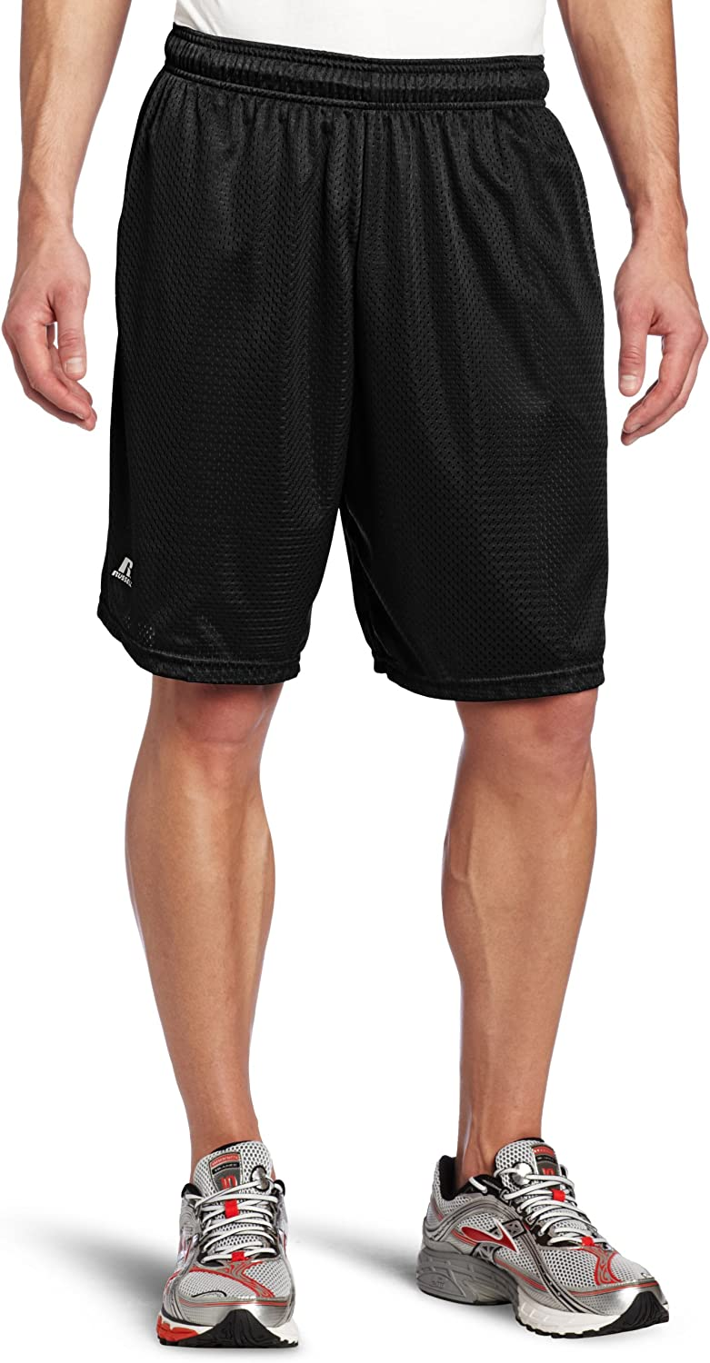 No Pockets Russell Athletic Men/'s Mesh Shorts Choose SZ//Color