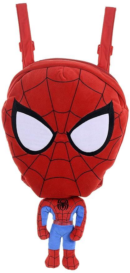 Marvel Superheroes Spiderman Backpack Plush Toy