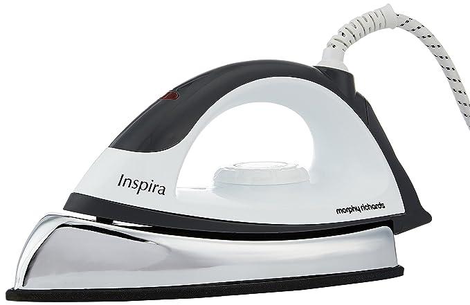 Morphy Richards Inspira 1000 Watt Dry Iron  White and Black