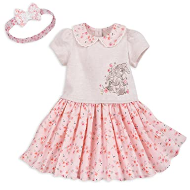 1286bf9d623 Bambi DIsneyMiss Bunny Knit Dress With Headband For Baby (Size 3-6 MO)
