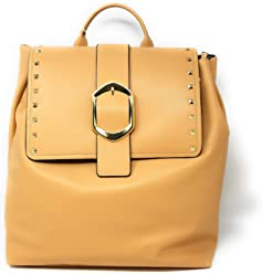 Gianni Bini Vachetta studded backpack