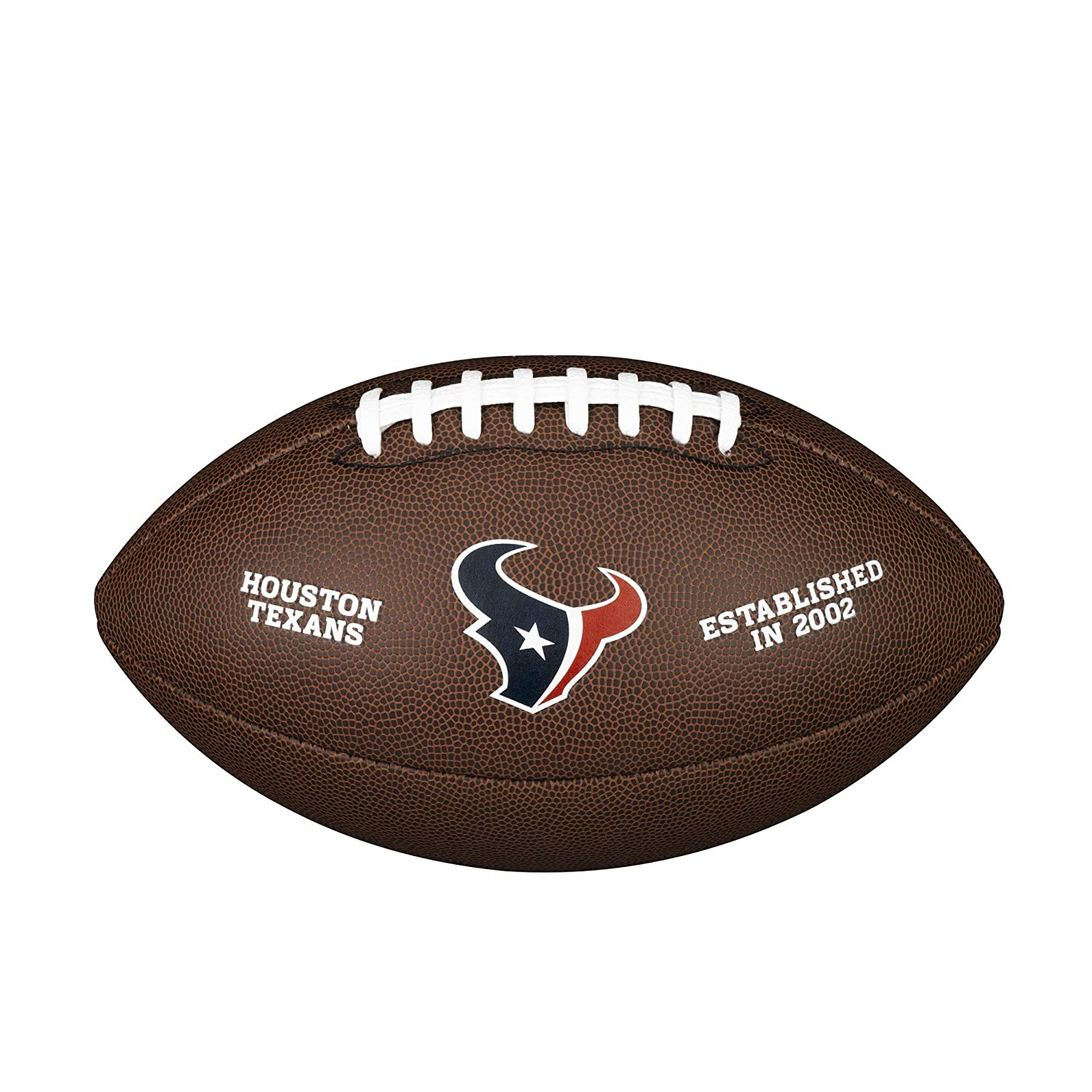 Wilson Houston Texans Logo Official Football WTF1748HOU