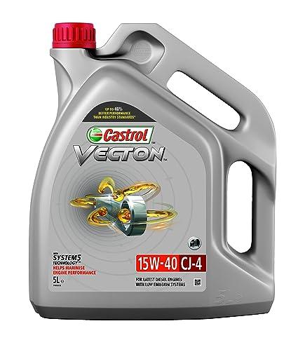 Castrol 1549ef Vecton CJ-4 15 W-40 Aceite de Motor: Amazon.es ...