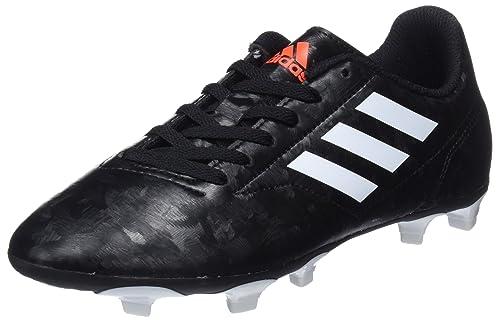 on sale 1582a 7c81d Adidas Conquisto II Fg J, Scarpe da Calcio Bambino, Nero (CblackFtwwht