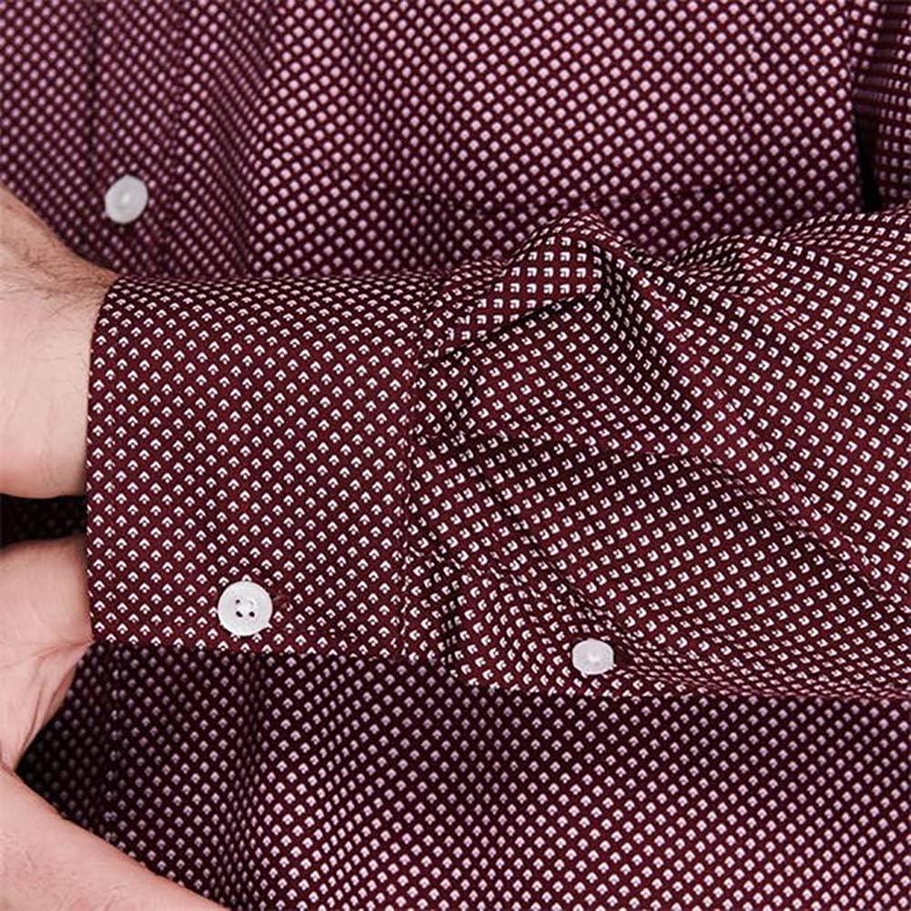 Pierre Cardin Homme Chemise a Manches Longues /À Carreaux ou /À Rayures avec Signature Broderie