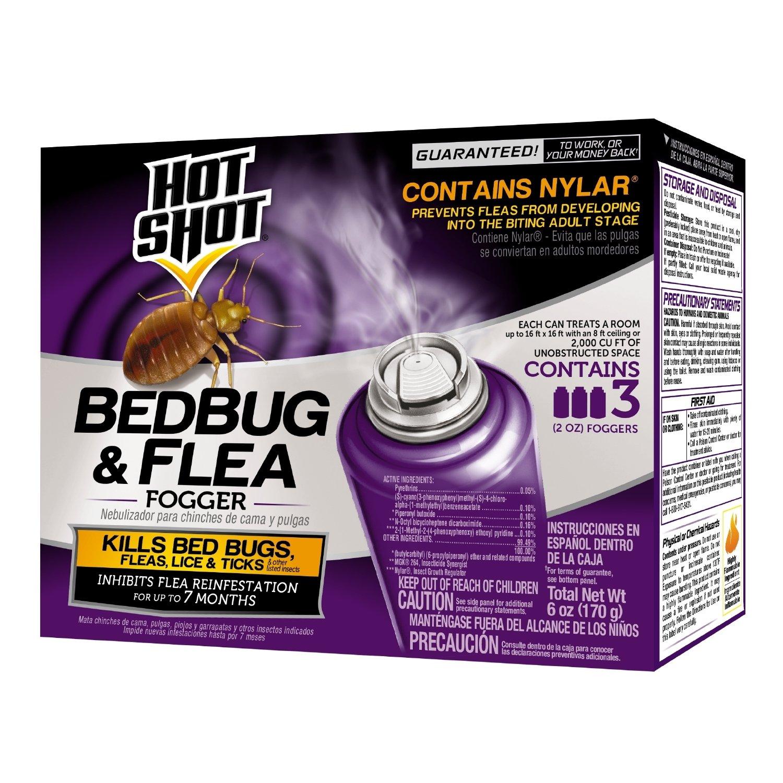 Amazon Hot Shot 95911 Bedbug And Flea Fogger Hot Shot Bed