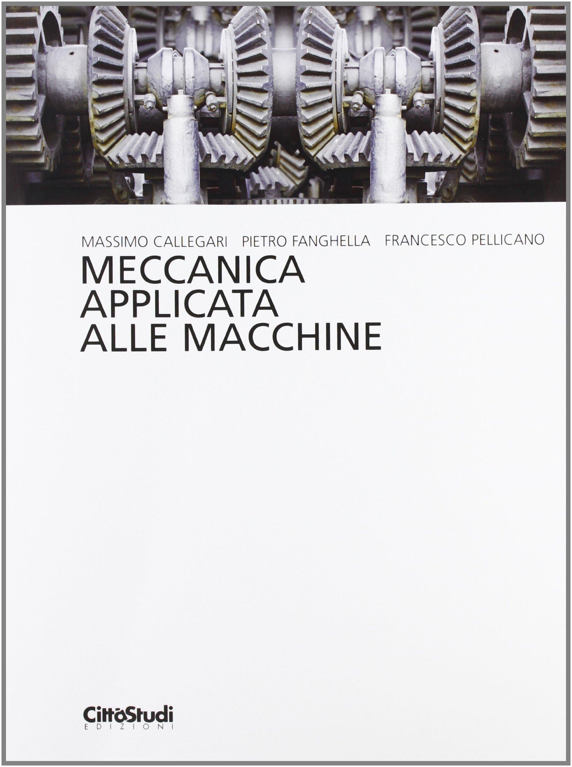 Meccanica Applicata Alle Macchine Pdf