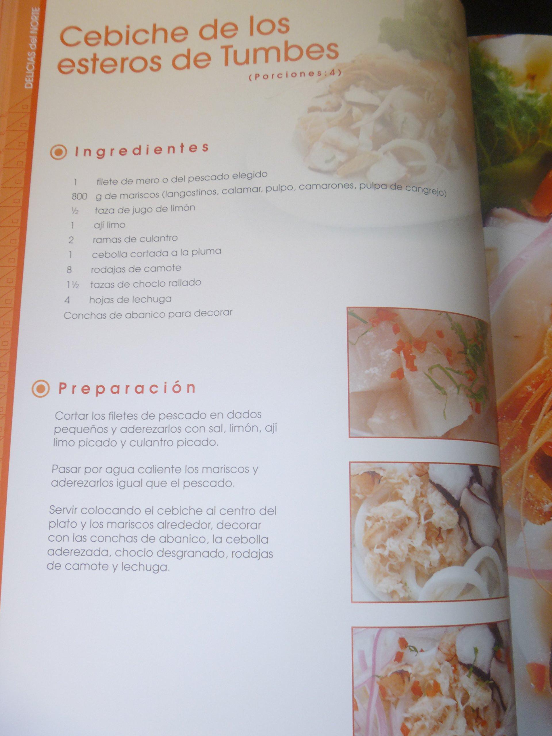 Delicias del Norte Gastronomia Peruana 100%: LEXUS: 9786124058042: Amazon.com: Books