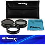 Ultimaxx 5PC Filter Kit For DJI Inspire 2 Zenmuse X4S Camera Gimbal